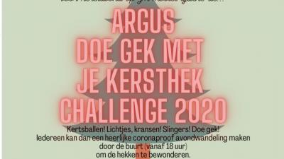 DOE GEK MET JE KERSTHEK CHALLENGE 2020