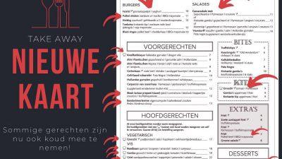 Persconferentie+creativiteit=nieuwe menukaart