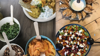 Take away: Kerkkitchen,een wereldse maaltijd op bestelling voor €12,50!