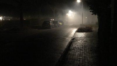 KNMI: code geel wegens dichte mist