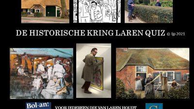 Doe mee! Koningsdag: online-quiz Historische Kring over Laren
