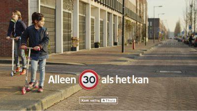 Check regelmatig je snelheid.