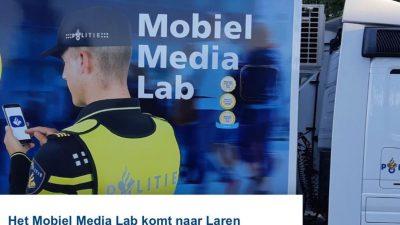 Mobiel Media Lab op de weekmarkt