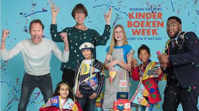 Kinderboekenweek bij 'Ons Genoegen'