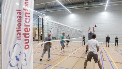 Start OldStars Volleyball bij Volleybalverenigingen Voleem en The Smashers groot succes!