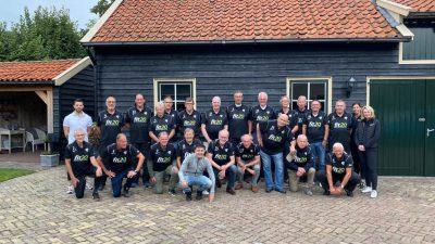 FIT20 sponsoring voor de Walking Footballers van sv Laren '99