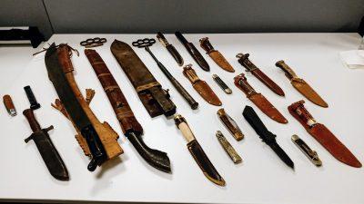 Politie Laren Blaricum informeert over wapen-inleveractie: alleen gevonden in Huizen en Naarden