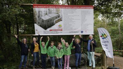 Scouting Maggy Lekeux start nieuwbouw