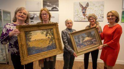 124 werken uit kunstcollectie Laren ( van de 143) worden mogelijk afgestoten